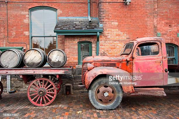 Rusty vieille ville de Fargo