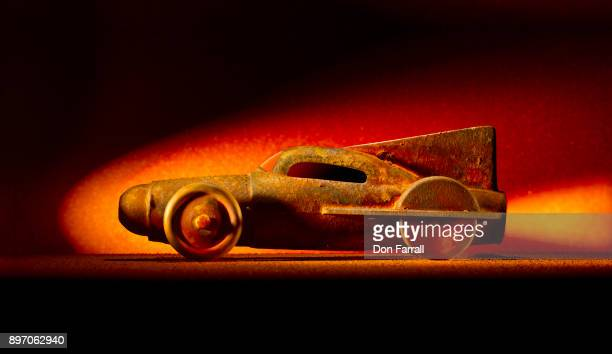 rusty rocket car - don farrall stock pictures, royalty-free photos & images