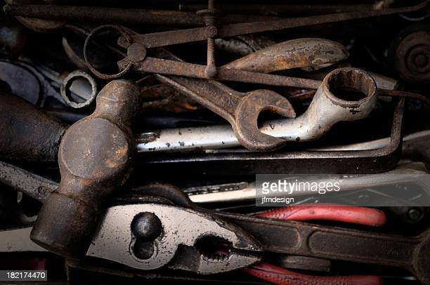 rusty set of tools