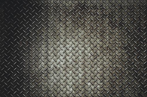 Rusty steel diamond plate texture 615100828