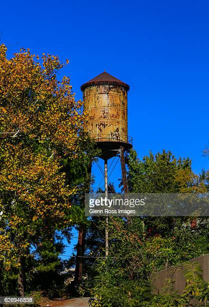 rusty water tower - columbia south carolina stock pictures, royalty-free photos & images