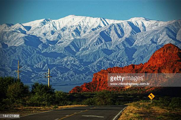 ruta 40 argentina - salta argentina stock photos and pictures