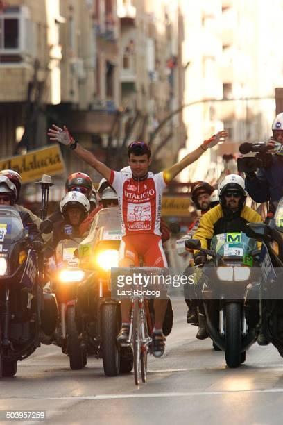 Ruta del Sol 4 etape Santiago Blanco Vitalicio Seguras vinder dagens etape