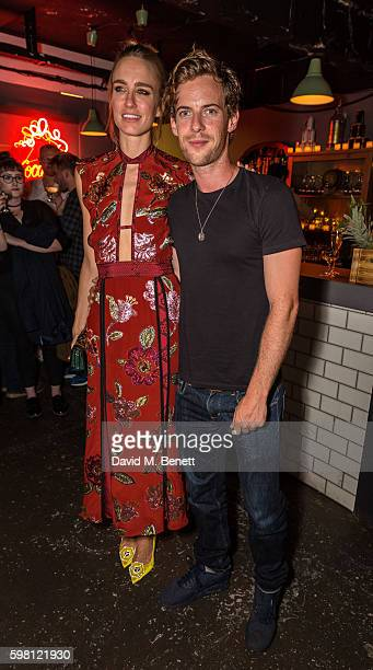 Ruta Gedmintas and Luke Treadway attend the press night/afterparty for Unfaithful on August 31 2016 in London England