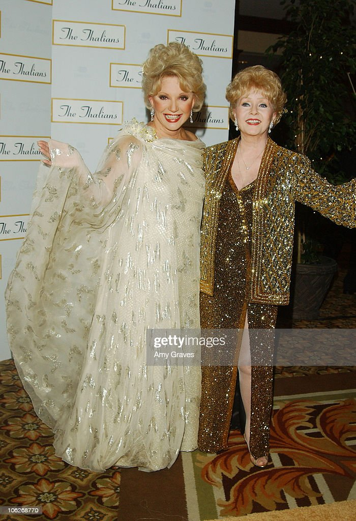 Debbie Reynolds and Ruta Lee Host The Thalians 50th Anniversary