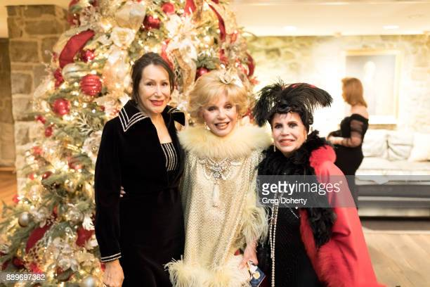 Ruta Lee and guests attend The Thalians Hollywood for Mental Health Holiday Party 2017 at the Bel Air Country Club on December 09 2017 in Bel Air...