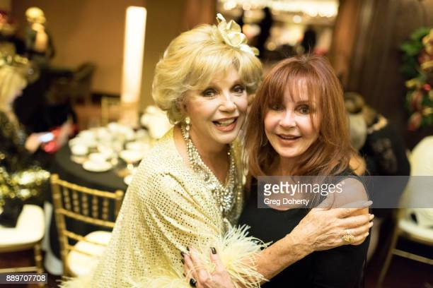 Ruta Lee and Jacklyn Zeman attend The Thalians Hollywood for Mental Health Holiday Party 2017 at the Bel Air Country Club on December 09 2017 in Bel...