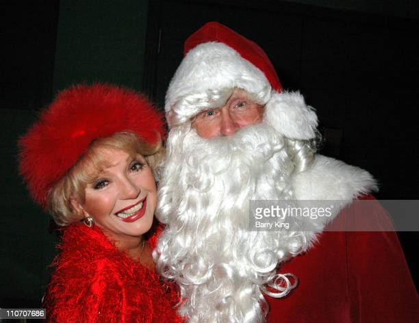 Ruta Lee and Santa Claus during Regent Presents Premiere of Christmas DoOver and Toys for Tots Benefit at Regent Showcase Theater in Hollywood CA...