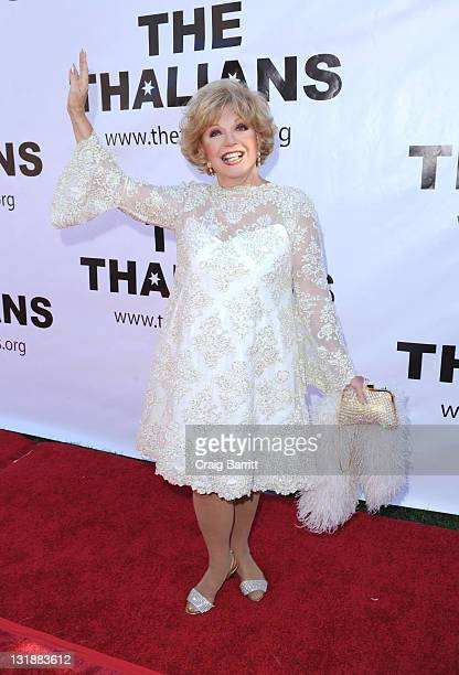 Ruta Lee attends 55th Anniversary Thalians Gala Honoring Hugh Hefner at The Playboy Mansion on April 30 2011 in Beverly Hills California