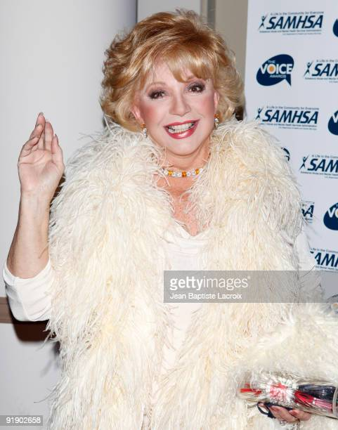 Ruta Lee attends the 2009 Voice Awards at Paramount Theater on the Paramount Studios lot on October 14 2009 in Los Angeles California