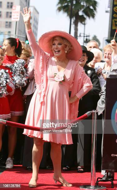 Ruta Lee during Ruta Lee is Honored with a Star on the Hollywood Walk of Fame at Hollywood Boulevard in Hollywood California United States
