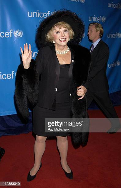 Ruta Lee during UNICEF Goodwill Gala Celebrating 50 Years of Celebrity Goodwill Ambassadors Red Carpet at The Beverly Hilton in Beverly Hills...