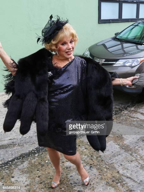 Ruta Lee is seen on February 26 2017 in Los Angeles California