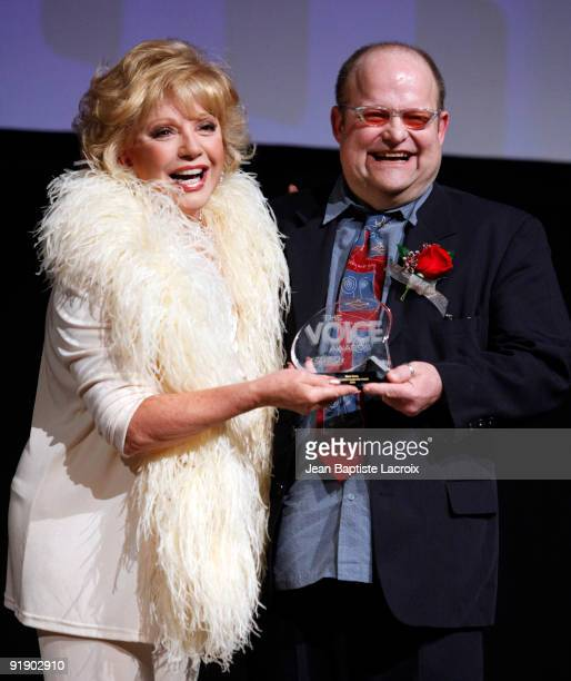 Ruta Lee Mark Davis attend the 2009 Voice Awards Ceremony at Paramount Theater on the Paramount Studios lot on October 14 2009 in Los Angeles...