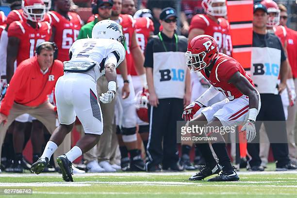 Rutgers Scarlet Knights defensive back Blessuan Austin during the game between the Rutgers Scarlet Knights and the Howard Bison played at High Point...