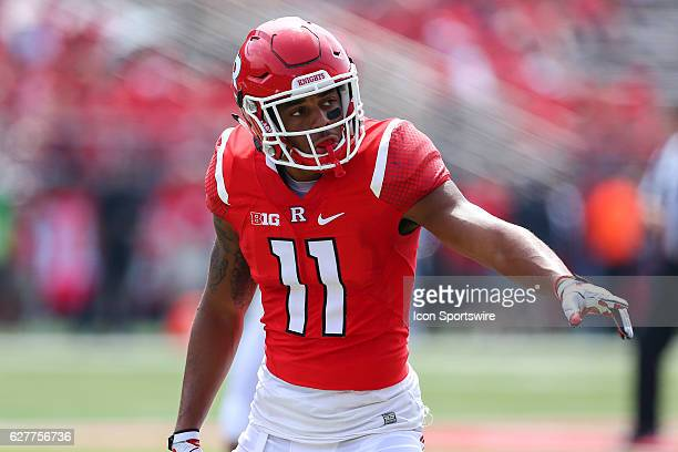 Rutgers Scarlet Knights defensive back Isaiah Wharton during the game between the Rutgers Scarlet Knights and the Howard Bison played at High Point...