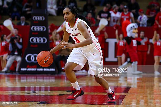 Rutgers Scarlet Knights guard Tyler Scaife during the second half of the game between the Rutgers Scarlet Knights and the Illinois Fighting Illini...