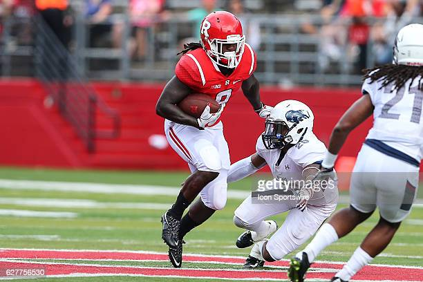 Rutgers Scarlet Knights running back Josh Hicks during the game between the Rutgers Scarlet Knights and the Howard Bison played at High Point...