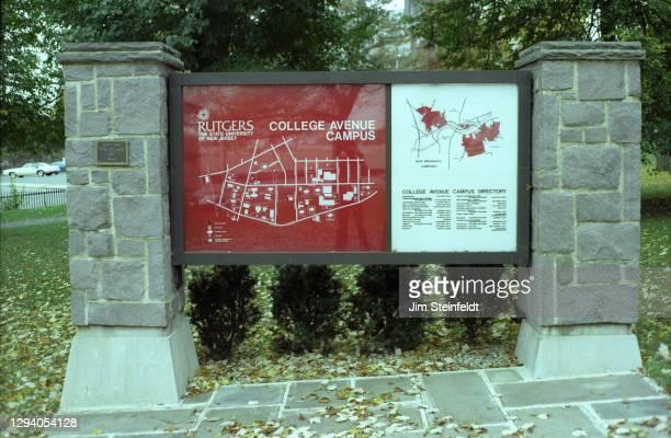 Rutgers University in New Brunswick, New Jersey on October 26, 1981.