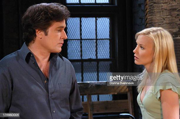 CHILDREN Ruth and Opal locked Tad and Di in the boathouse on Tuesday July 5 2005 on ABC Daytime's 'All My Children' 'All My Children' airs...