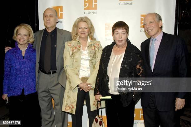 Ruth Appelhof Marshall Brickman Candice Bergen Jennifer Bartlett and Mickey Straus attend GUILD HALL ACADEMY of the ARTS LIFETIME ACHIEVEMENT AWARDS...