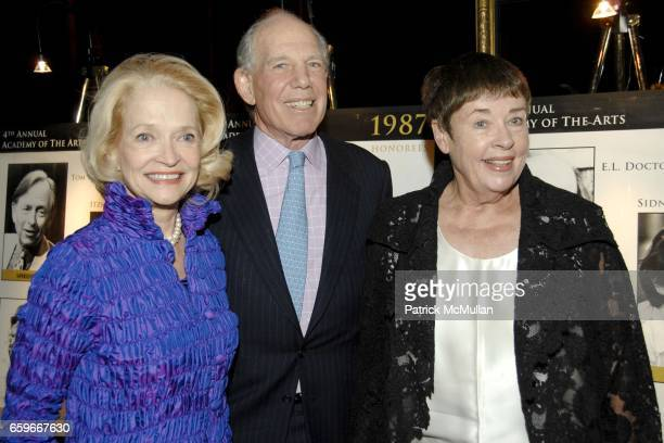 Ruth Appelhof Mickey Straus and Jennifer Bartlett attend GUILD HALL ACADEMY of the ARTS LIFETIME ACHIEVEMENT AWARDS at Cipriani 42nd Street on March...