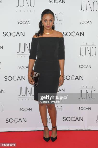 Ruth B attends the 2017 Juno Gala Dinner and Awards at Shaw Centre on April 1 2017 in Ottawa Canada