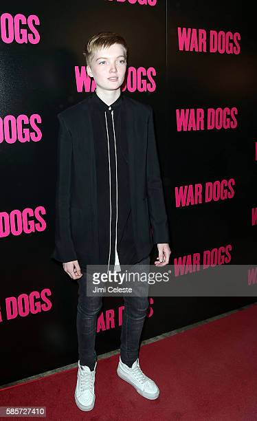 """Ruth Bell attends the special screening of """"War Dogs"""" at Metrograph on August 3, 2016 in New York City."""