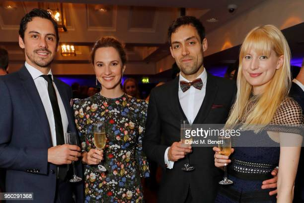 Ruth Bradley Alex Hassell and Emma King attend the British Academy Television Craft Awards held at The Brewery on April 22 2018 in London England