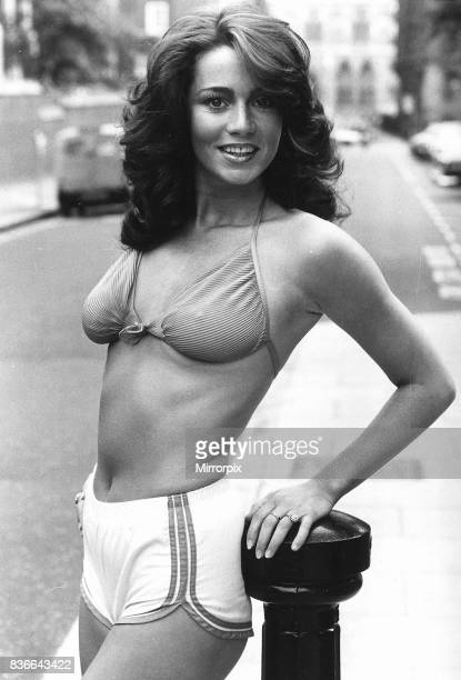 Ruth Burnett actress model and ex Bunny Girl in 1980 friend of Prince Andrew
