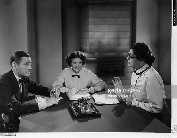 Ruth Chatterton and Constance Collier star in the 20th Century Fox film 'Girls' Dormitory' an oldfashioned romance directed by Irving Cummings
