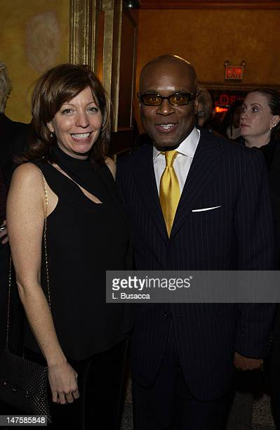Ruth Cohen PENCIL President with Antonio 'LA' Reid