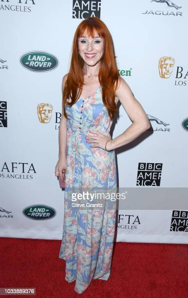 Ruth Connell attends BAFTA Los Angeles BBC America TV Tea Party 2018 at The Beverly Hilton Hotel on September 15 2018 in Beverly Hills California