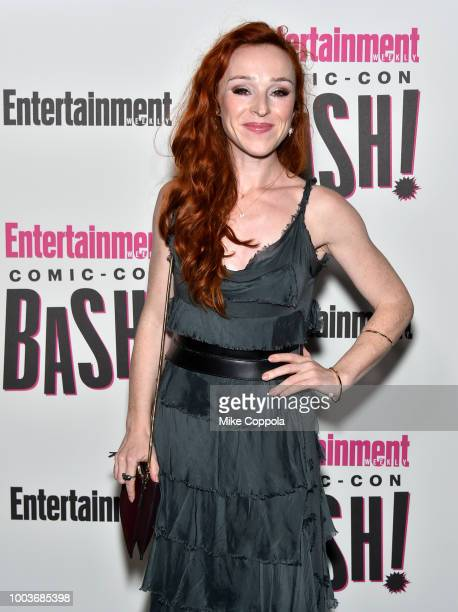Ruth Connell attends Entertainment Weekly's ComicCon Bash held at FLOAT Hard Rock Hotel San Diego on July 21 2018 in San Diego California sponsored...