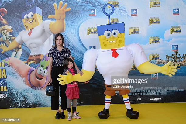 Ruth Diaz attends the 'Bob Esponja' Premiere at Kinepolis Cinema on January 31 2015 in Madrid Spain