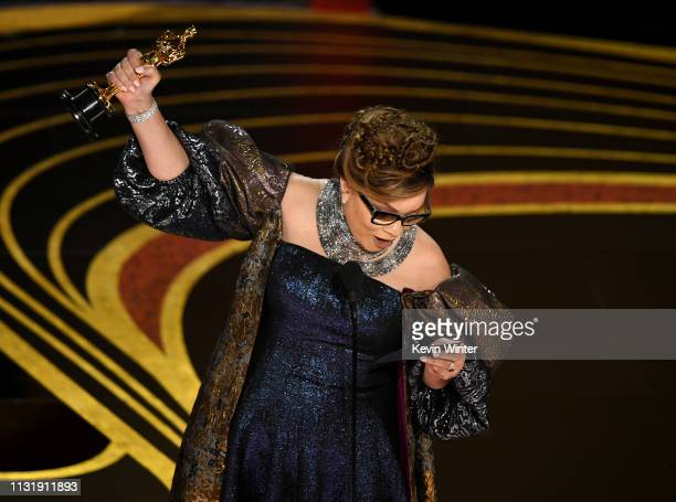 Ruth E Carter accepts the Costume Design award for 'Black Panther' onstage during the 91st Annual Academy Awards at Dolby Theatre on February 24 2019...