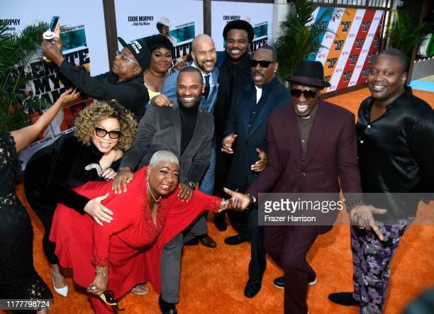 Ruth E Carter Luenell Da'Vine Joy Randolph Mike Epps KeeganMichael Key Craig Robinson Eddie Murphy and Tituss Burgess attend LA Premiere Of Netflix's...