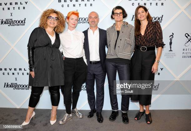 Ruth E Carter Sandy Powell Carlos Rosario Alexandra Byrne and Erin Benach arrive at Beverly Center's Grand Reveal Weekend Candidly Costumes with The...