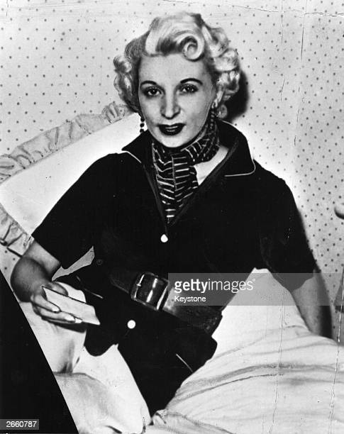Ruth Ellis who was the last woman in Britain to be given the death penalty