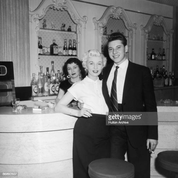 Ruth Ellis with a friend and a barmaid The setting is probably The Little Club Knightsbridge which she managed The following year Ellis was convicted...