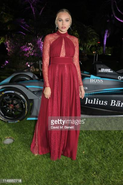 Ruth Elopuro attends a private dinner hosted by Alejandro Agag to celebrate the World Premiere of Formula E documentary And We Go Green during the...
