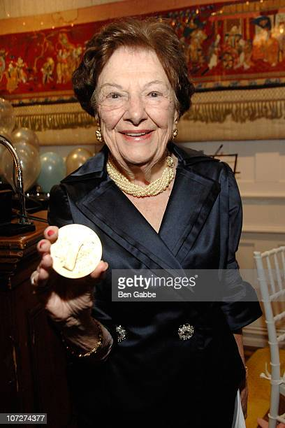 Ruth Finley attends the Lifetime Achievement Award ceremony for fashion at The National Arts Club on December 2, 2010 in New York City.