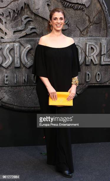 Ruth Gabriel attends the 'Jurassic World Fallen Kindom' premiere at Wizink Center on May 21 2018 in Madrid Spain