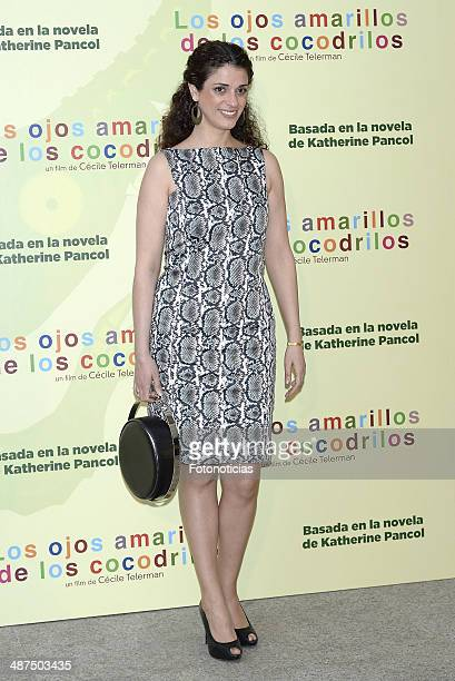 Ruth Gabriel attends the 'Los Ojos Amarillos de los Cocodrilos' premiere the Academia del Cine on April 30 2014 in Madrid Spain