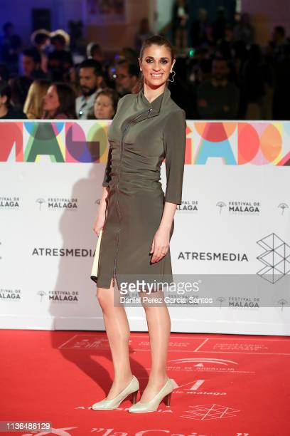 Ruth Gabriel attends the 'Malaga' award 2019 during the 22th Malaga Film Festival at the Cervantes Theater on March 17 2019 in Malaga Spain