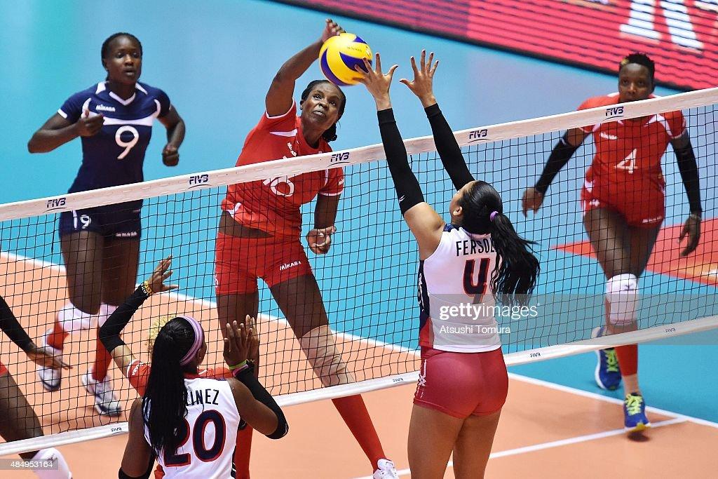 Kenya v Dominican Republic - FIVB Women's Volleyball World Cup Japan 2015 : ニュース写真