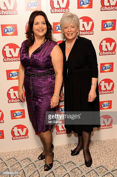 Ruth Jones and Alison Steadman arrives at the TV Choice Awards 2010 at The Dorchester on September 6 2010 in London England