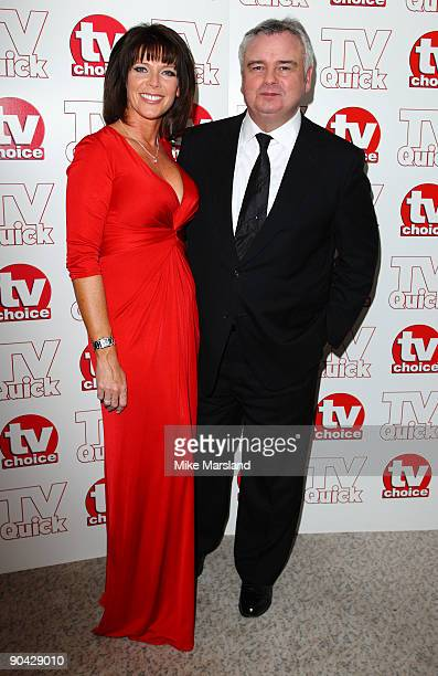 Ruth Langsford and Eamon Holmes attend the TV Quick Tv Choice Awards at The Dorchester on September 7 2009 in London England
