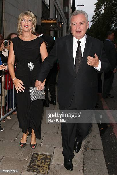Ruth Langsford and Eamon Holmes attending the TV Choice Awards 2016 on September 5 2016 in London England