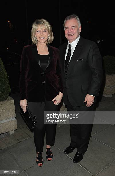 Ruth Langsford and Eamonn Holmes appear on the Late Late Show on January 27 2017 in Dublin Ireland